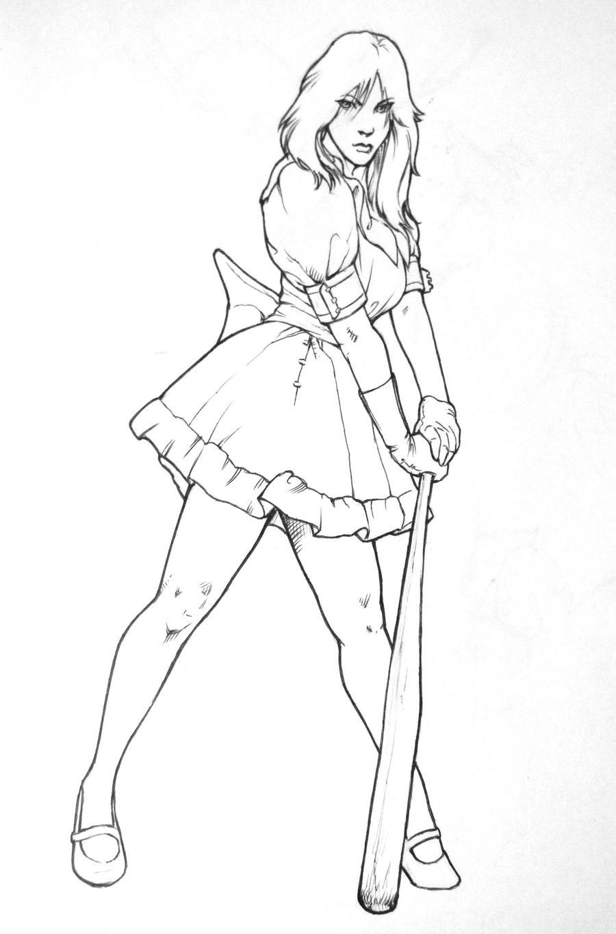 Bad Girl By Saurin369 On DeviantArt