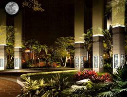 pillars of light by Dark-Sphere