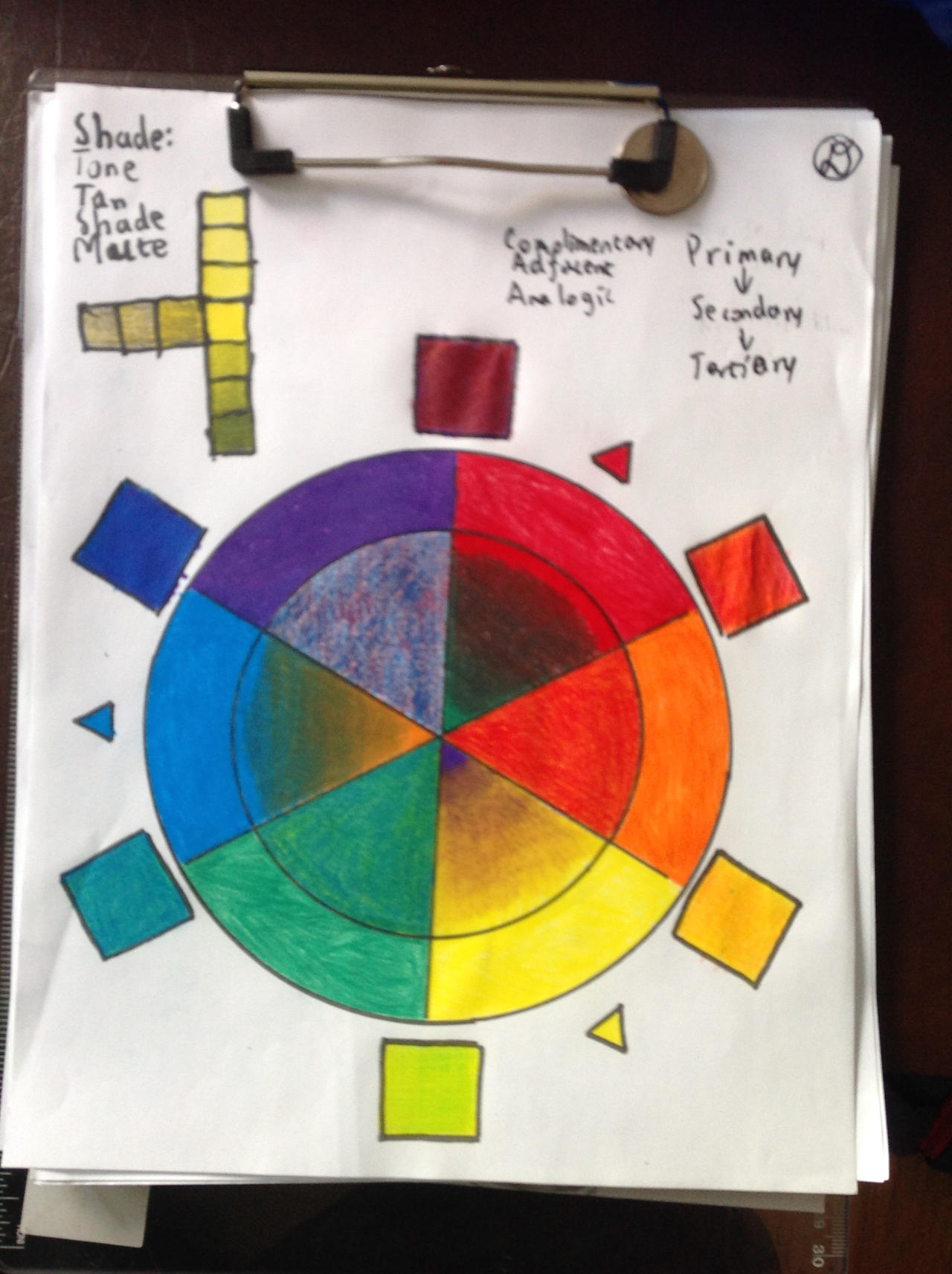 Color Wheel Reference by derekguo31