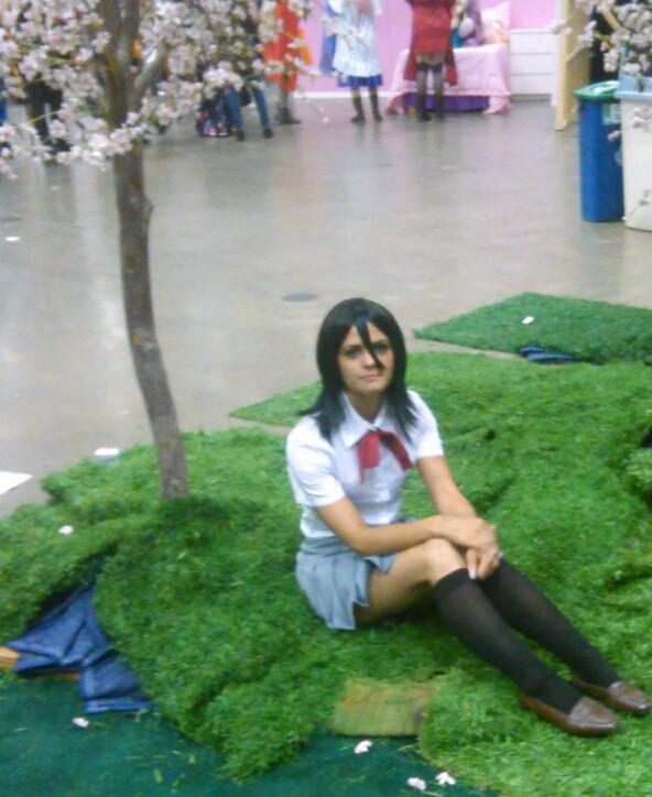 Rukia Kuchiki AX 2014 by theRukiakitty