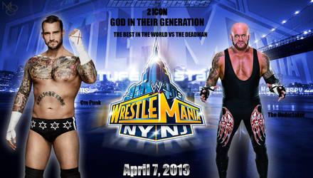 Cm Punk vs The Undertaker