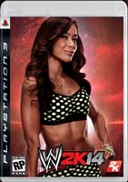 AJ LEE COVER WWE 2K14
