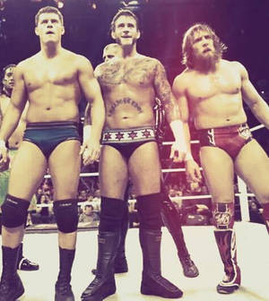 WWE Raw 11/11/13 - Cody and Punk and Bryan