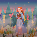 Half-elf commission by Lemanntim