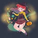 Little witch commission by Lemanntim