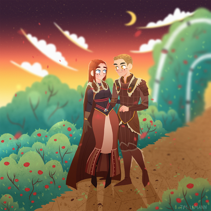 Nymeria and Alistair commission