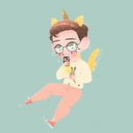 Cute chibi illustration by Lemanntim