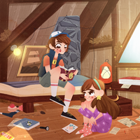 Gravity falls fan art comm