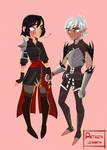 Lyanna and Fenris commission
