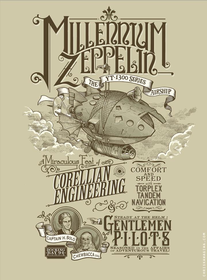 Millenium Zeppelin by sketchboy01