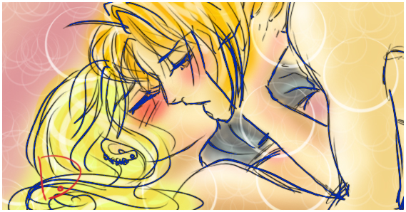 Ed Elric X Winry Rockbell by Commissionz