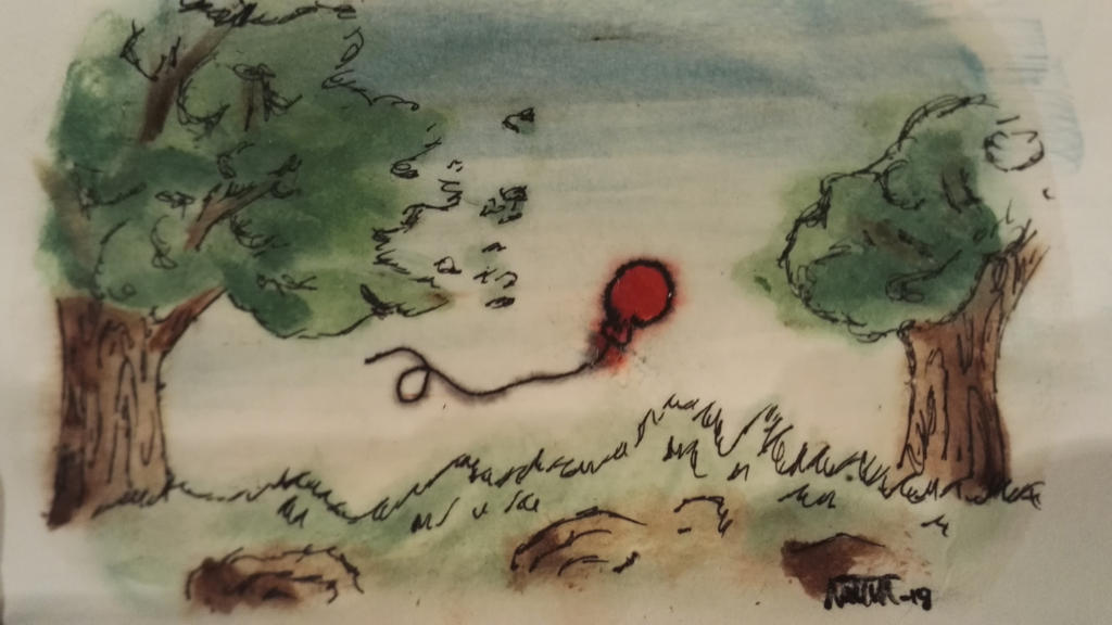 My first attempt at watercolor by nikotaco on deviantart for My first watercolor painting
