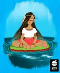 Iara - The River Godess