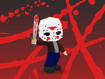 Jason Voohees by GoddessofSong