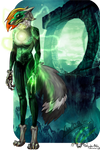 The Green Lantern by Tatty-aka-Chika