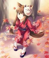 Kuzunoha shoujo form by maxwindy