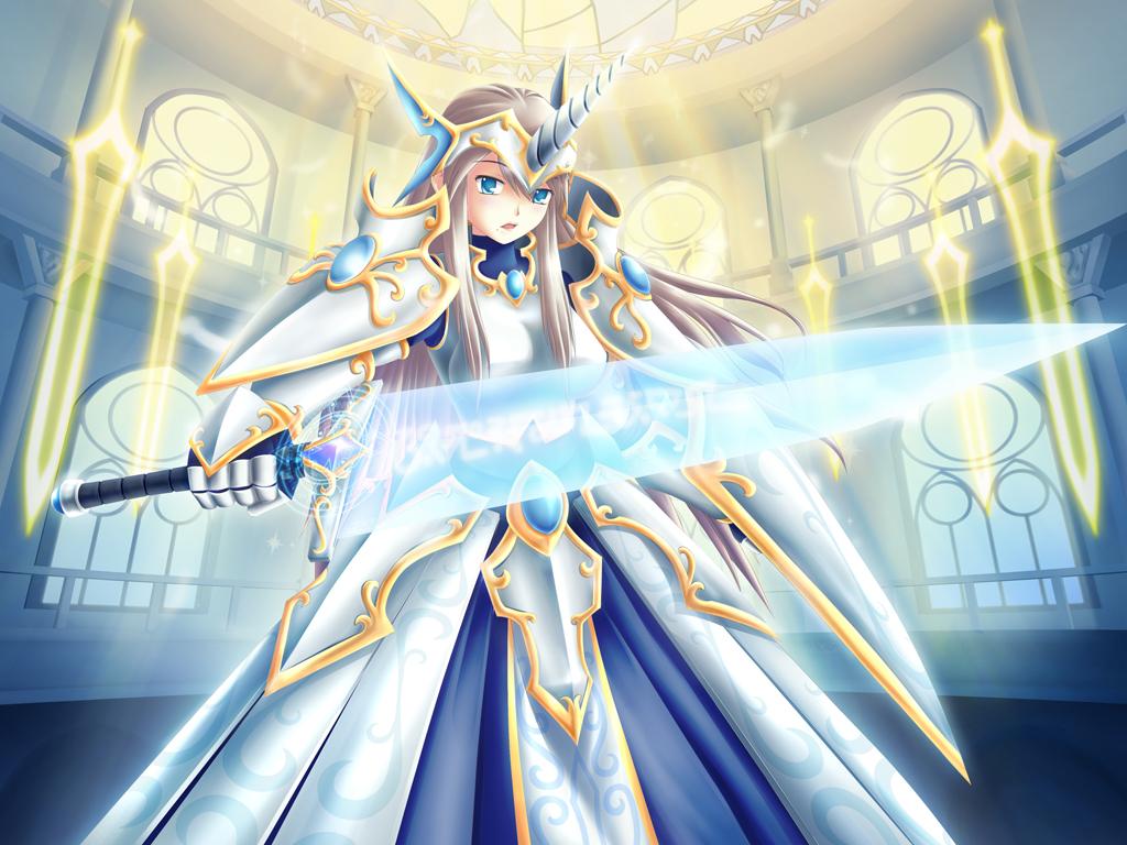 Anime Queen Of Light Light Templar of Valha...