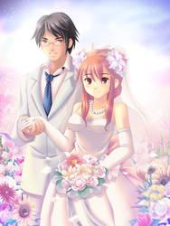 Wedding celebration by maxwindy