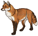 Fox pixel by makangeni