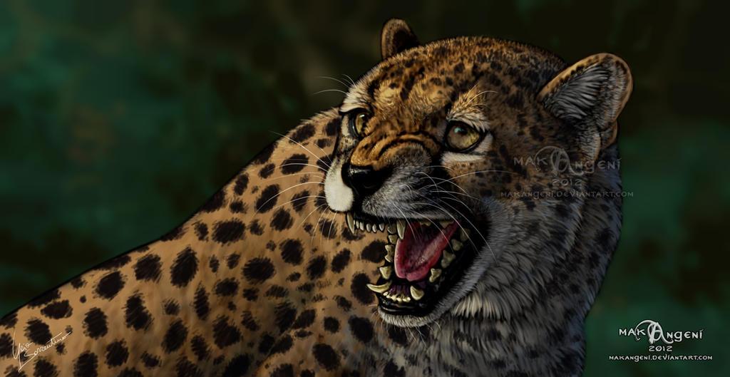 Hissing Cheetah by makangeni