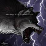 OC wolf icon