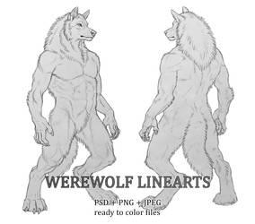 Werewolf Linearts