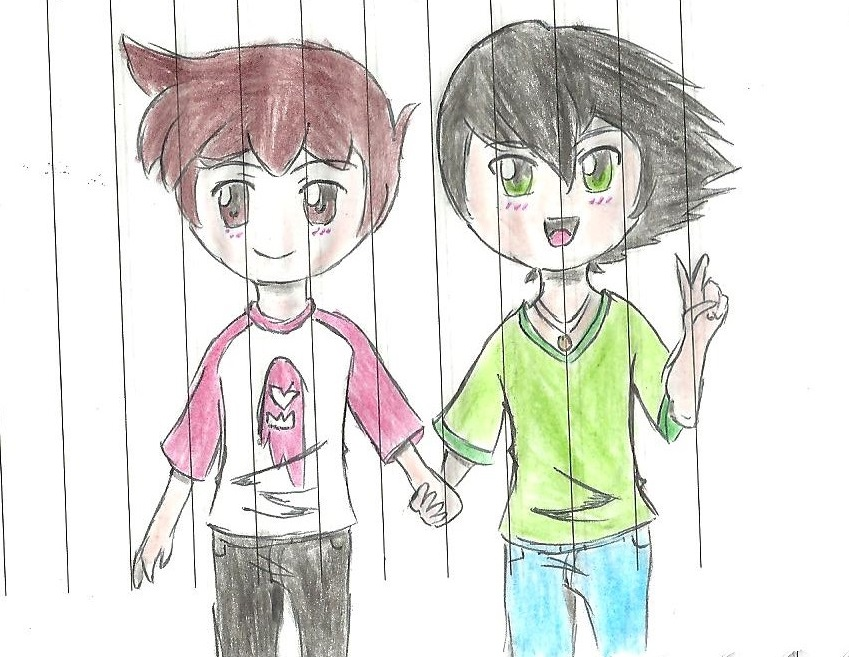 Billy and Spencer (DTMG) by LittlePuffy4ever