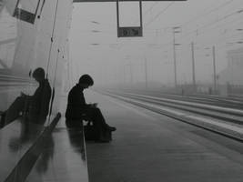Train Station, 8.55 A.M. by dibutade