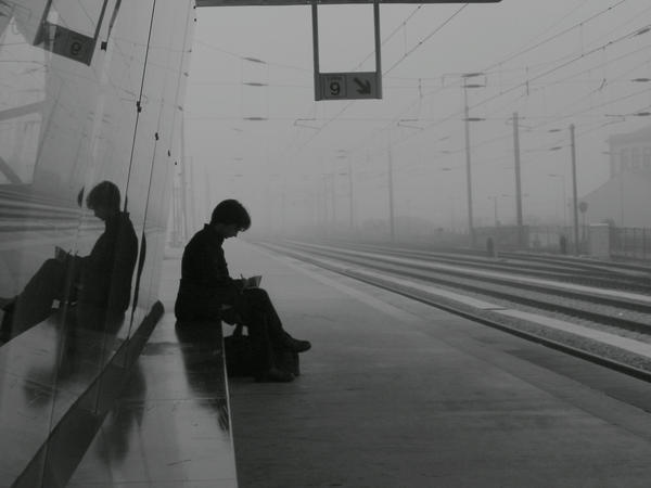 The Train Station Train_Station__8_55_A_M__by_dibutade