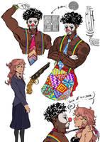Emo Clown Y Girl by benjaminwillnot