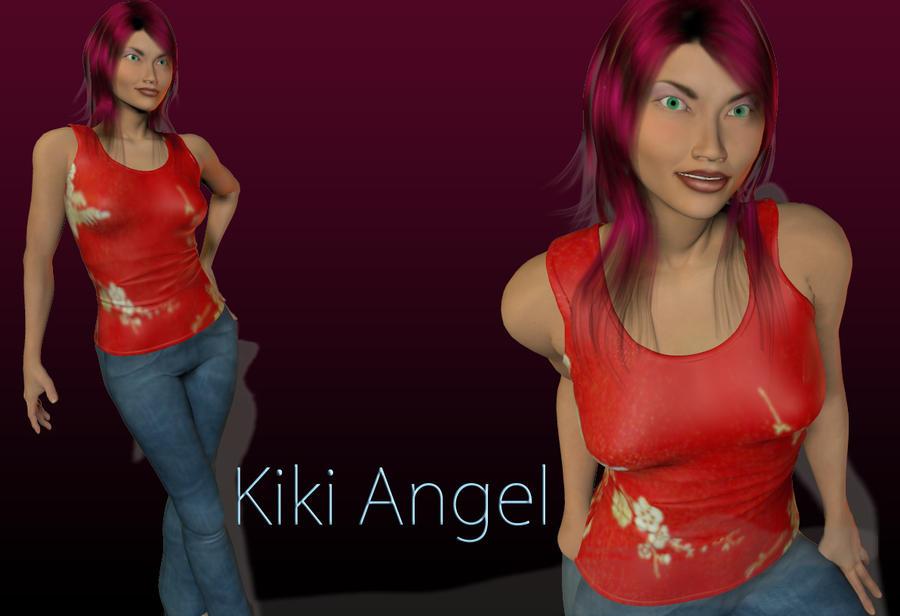 KikiAngel by DazinaCramoski