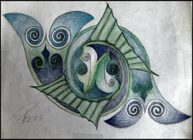 Pisces knot Color by nodis