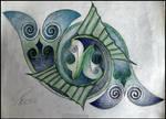 Pisces knot Color