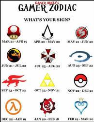 Gamer Zodiac by Atem925