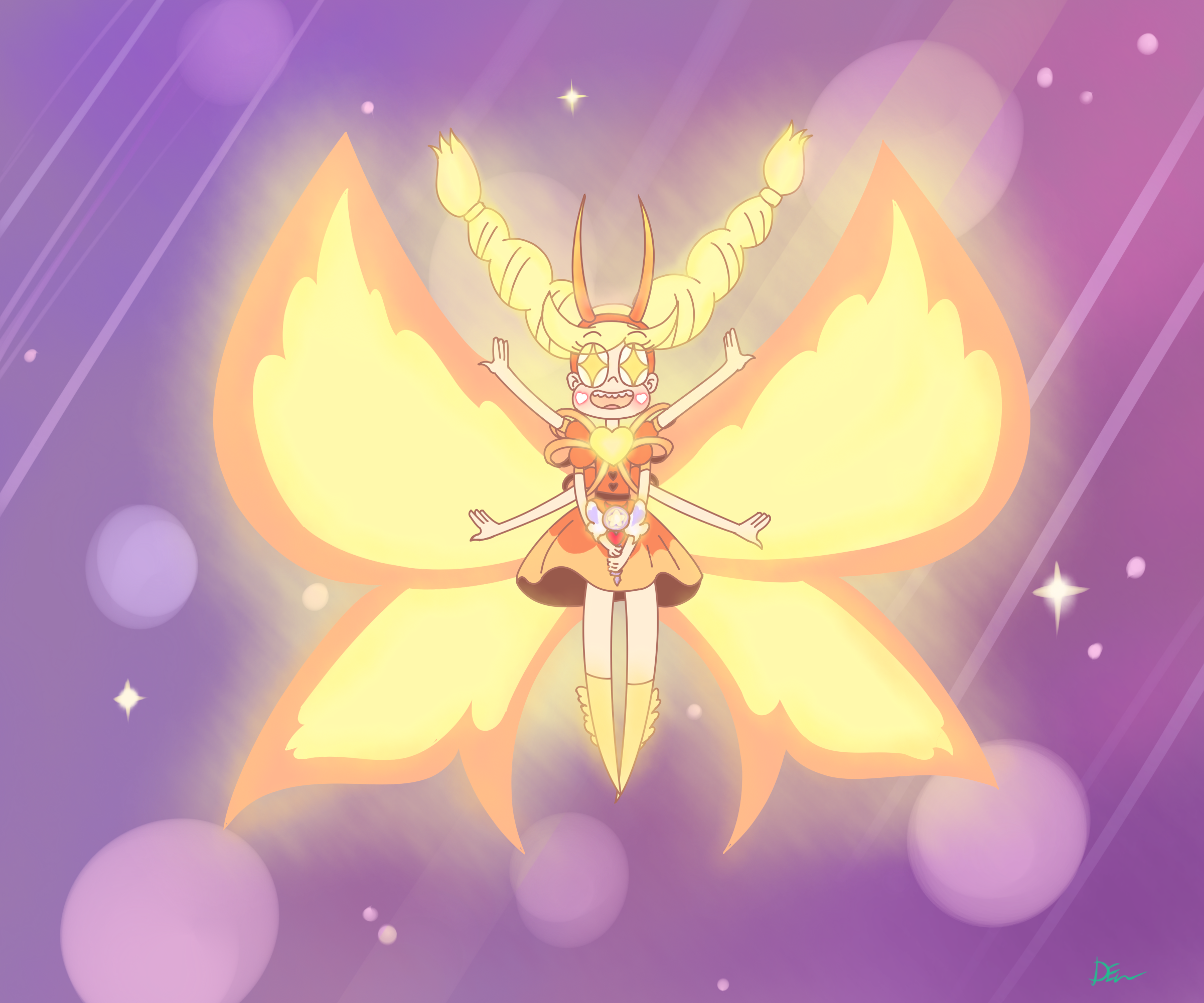 Star Vs. The Forces Of Evil: Star's Mewberty Form By