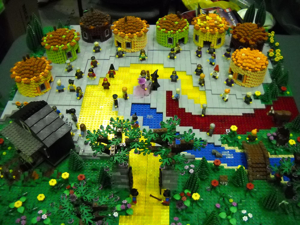 Wizard Of Oz Lego Sets by Casazil