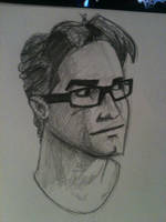 Leonard Hofstadter from The Big Bang Theory by Antni