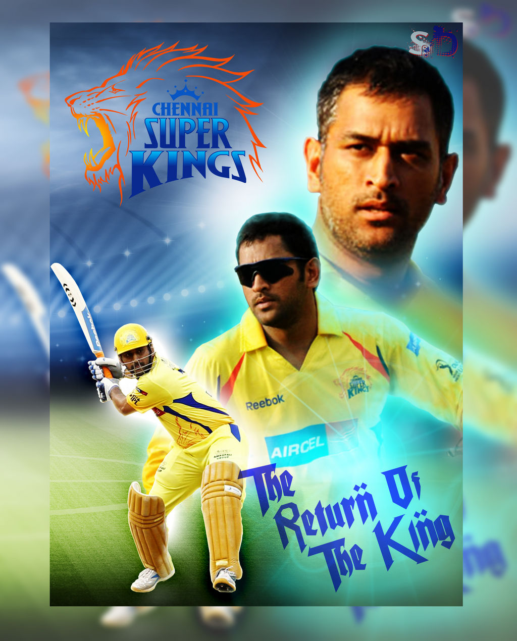 Ms Dhoni Csk Wallpaper By Imsauvik On Deviantart