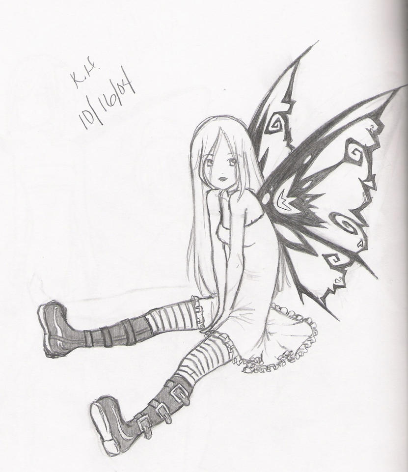 Crying Fairy Drawings