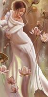 Water Lily by Svetlana Valueva