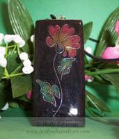 Art Nouveau Flower Pendant No1 by Ariana-Blossom