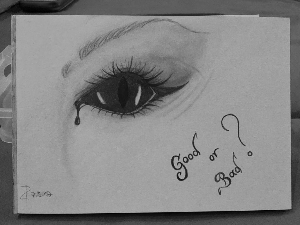 Good or Bad? by Art-de-la-Bella