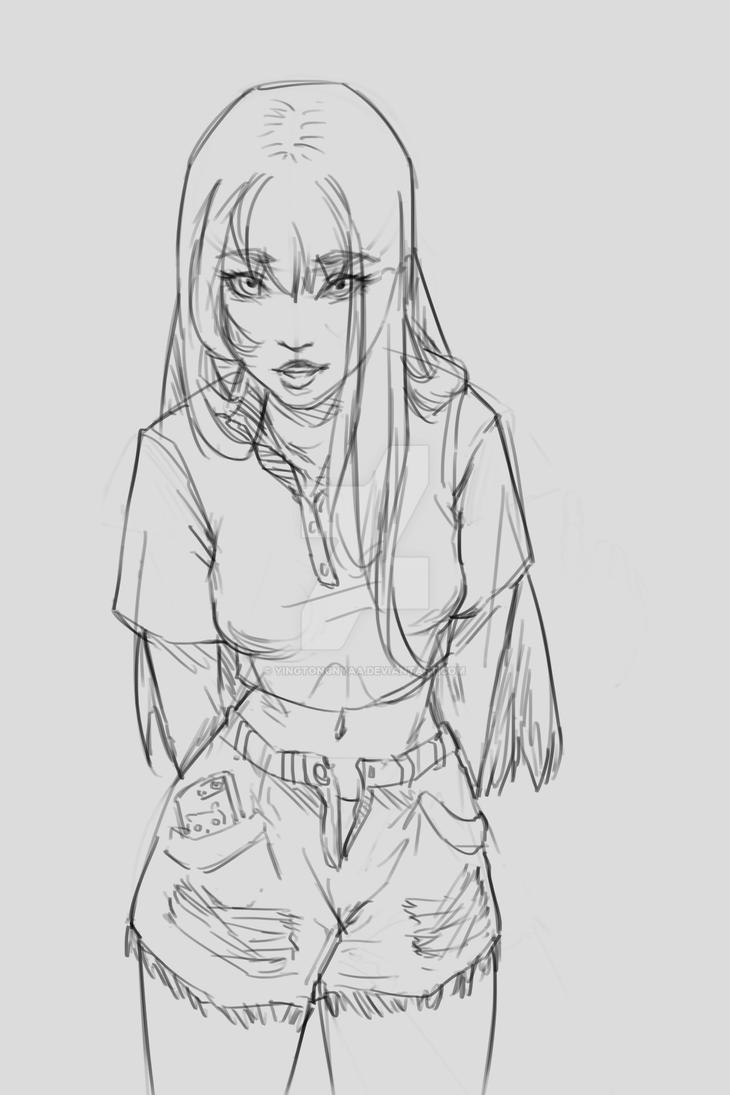 Sketch 1 by yingtongnyaa