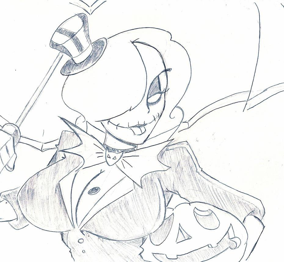 Pumpkin Queen Mortis by InfectedLobster