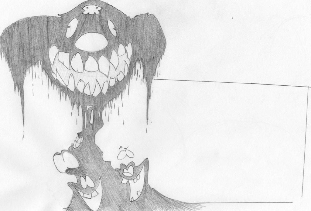 Spooky smile by Diseased-Crab