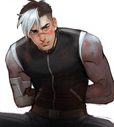 Voltron : Shiro by Mstrmagnolia