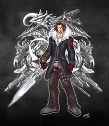 Another look at Squall by 13thfirefly