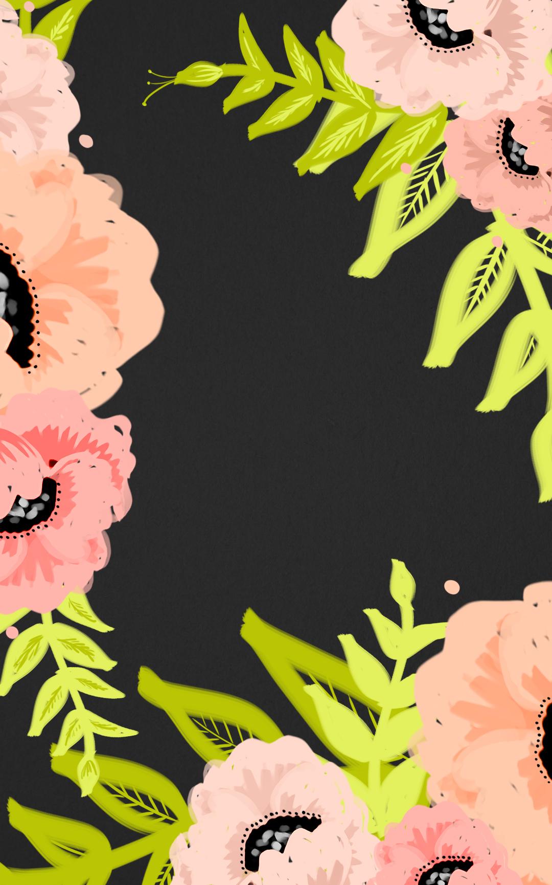 Floral Wallpaper Phone Fall