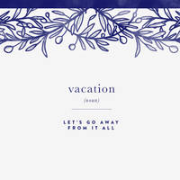 vacation ipad no quote by cocorie