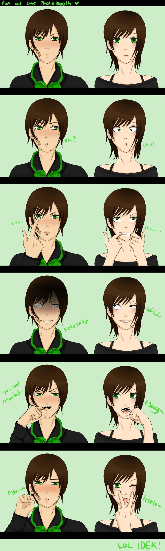 We're kinda strange...(Me and krisy poo) by YamiSonozaki